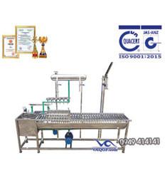 Máy chiết rót bình bán tự động VAMCB 60