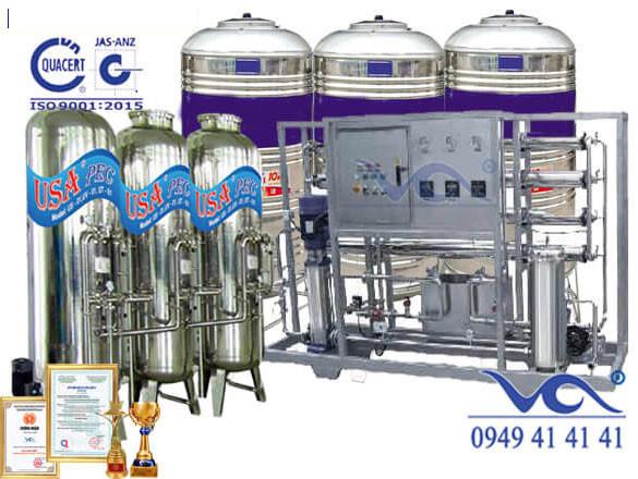 Hệ thống lọc nước 13000 lít xuất cho ông Mây - Thái Bình