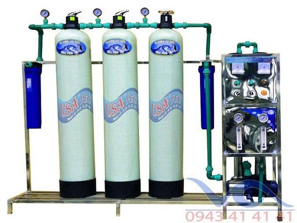 Hệ thống xử lý nước vacc 750