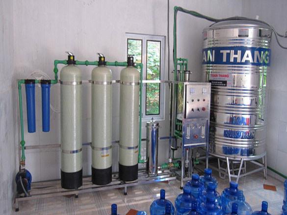 Bottled water filter line