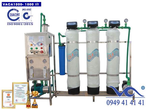 Dây chuyền lọc nước tinh khiết 1000 lít/h composite autovan