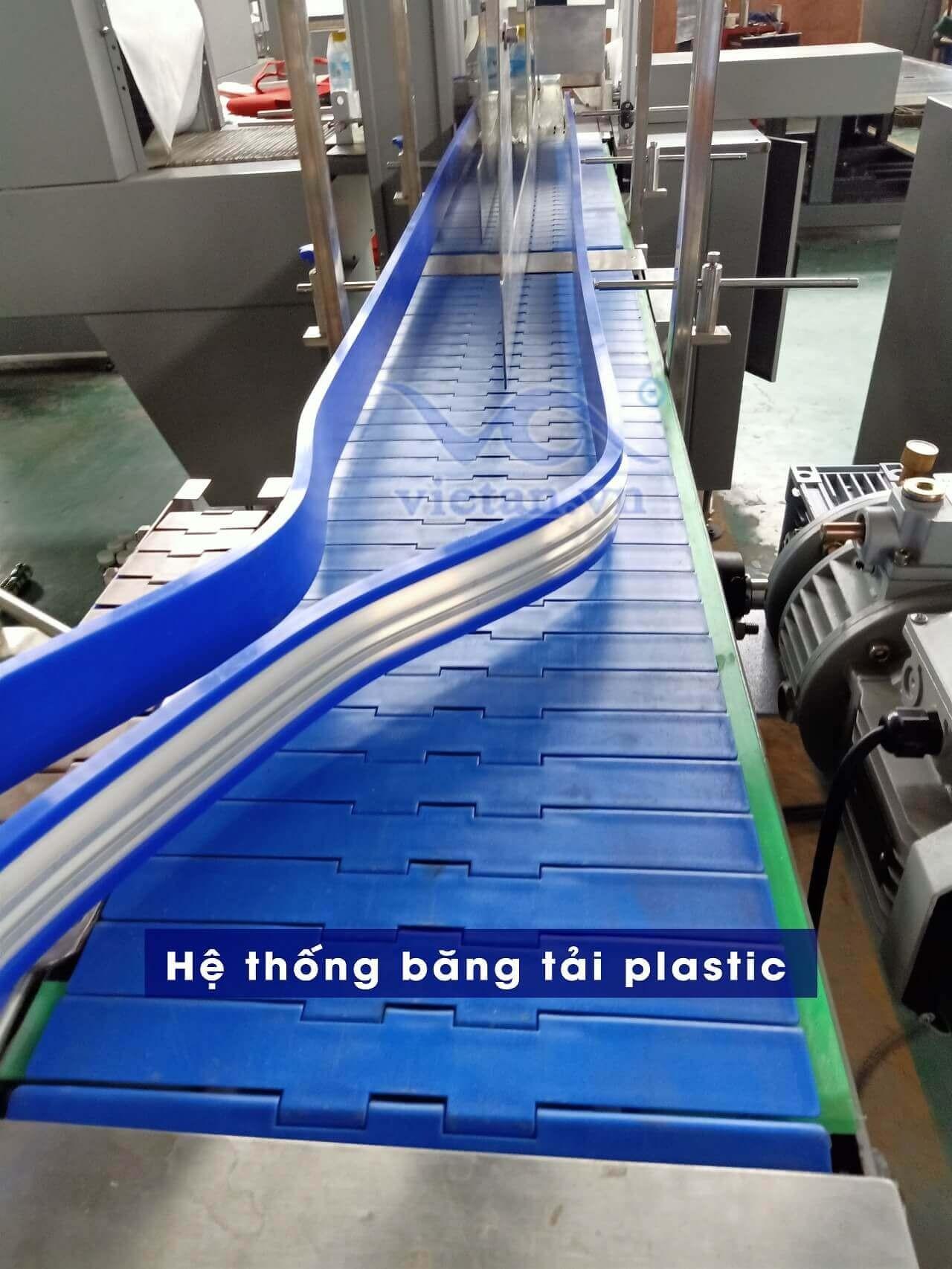 Hệ thống băng tải plastic