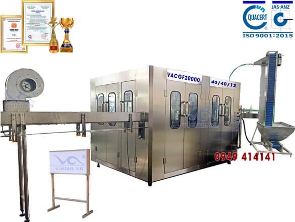 Máy chiết chai VACGF20000- 6 trong 1