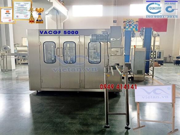 Máy chiết chai VACGF5000- 6 trong 1