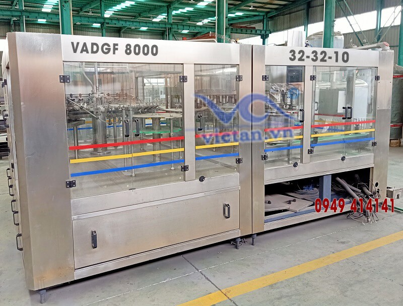 Máy chiết đẳng áp VADGF8000- 3 trong 1
