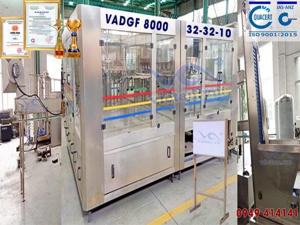 Máy chiết đẳng áp VADGF8000- 6 trong 1