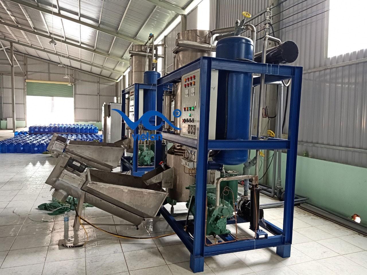 Máy làm nước đá công nghiệp