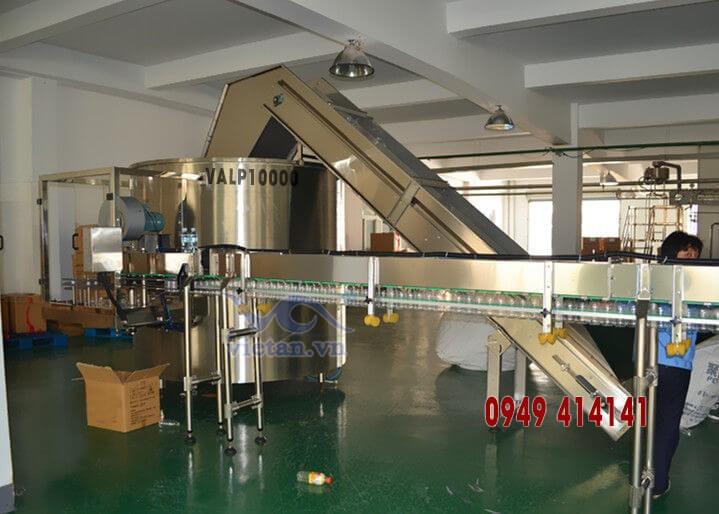 Máy tải và sắp chai  VALP10000