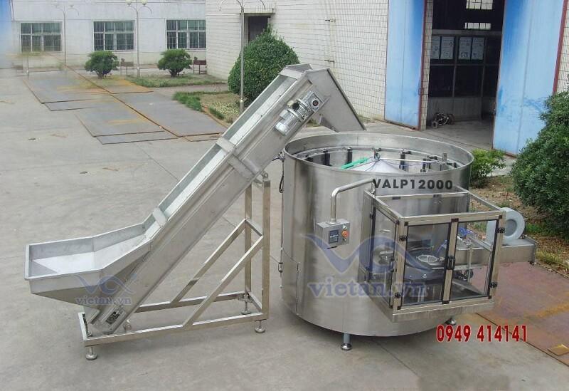 Máy tải và sắp chai  VALP12000