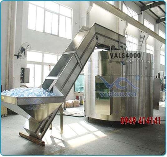 Máy tải và sắp chai VALS4000-1
