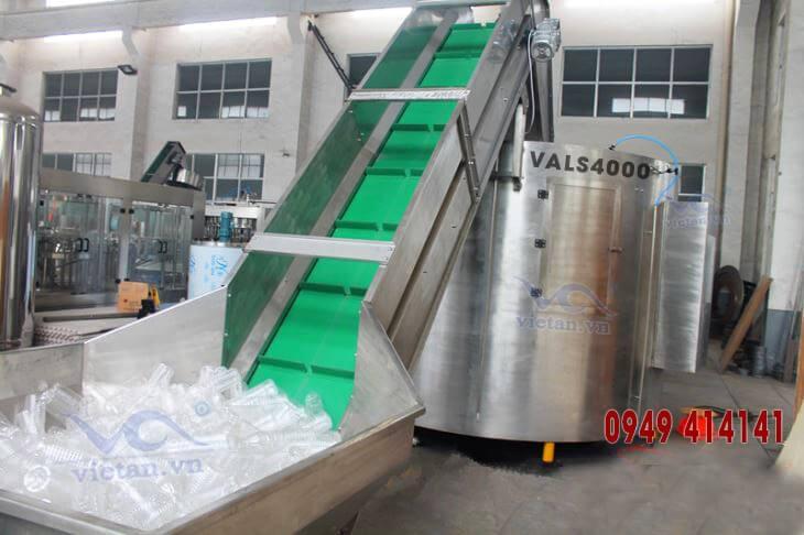 Máy tải và sắp chai VALS4000
