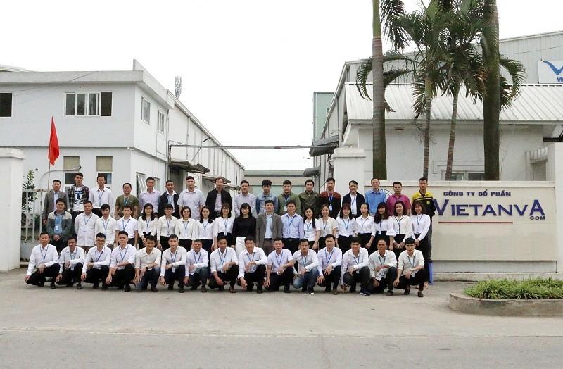 Ảnh tập thể công ty Việt An