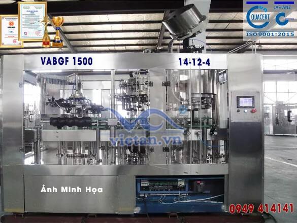 Máy chiết rót bia VABGF1500