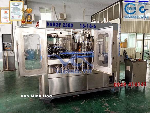 Máy chiết rót bia VABGF2500
