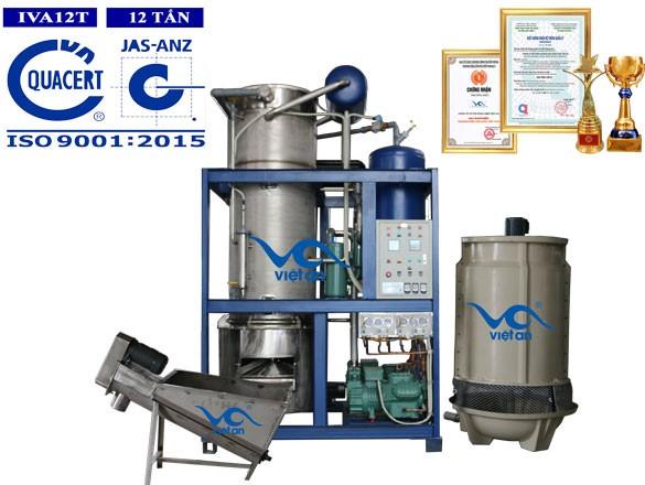 Máy làm đá viên công nghiệp Việt An