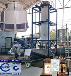 máy làm đá viên công nghiệp 20 tấn IVA20T