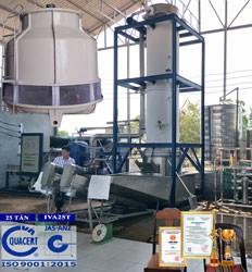 máy làm đá viên công nghiệp 25 tấn IVA25T