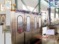 Máy chiết rót nước có ga VADGF6000