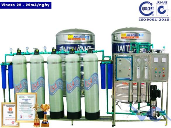Dây chuyền lọc nước VINARO 22-big