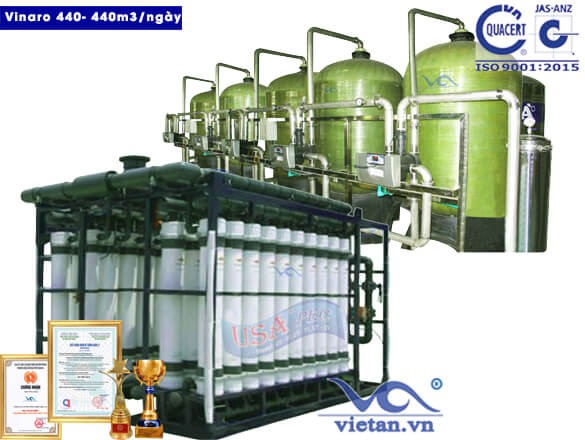 Dây chuyền lọc nước Vinaro 440 -big