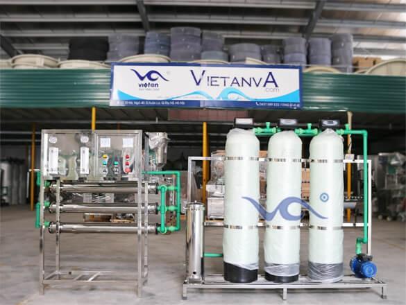 Dây chuyền sản xuất nước tinh khiết VA