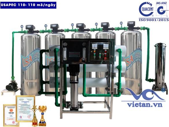 Hệ thống lọc nước usapec 110m3/ngày