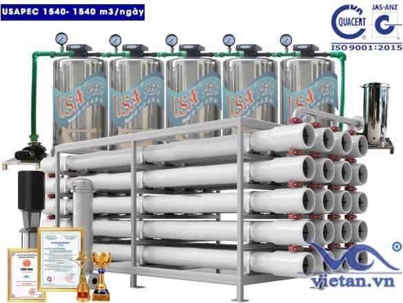 Hệ thống lọc nước usapec 1540m3/ngày