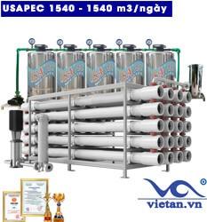 Hệ thống lọc nước usapec 1540m3