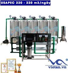 Hệ thống lọc nước usapec 220m3