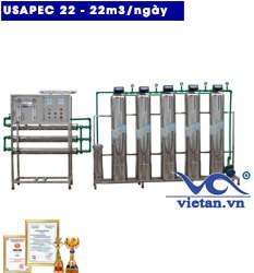 Hệ thống lọc nước usapec 22m3