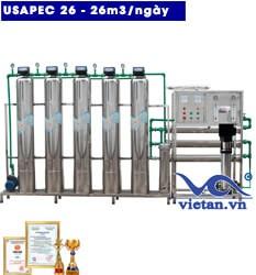 Hệ thống lọc nước usapec 26m3
