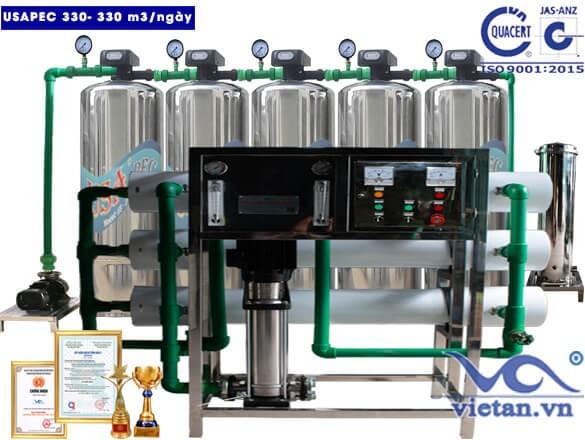 Hệ thống lọc nước usapec 330m3/ngày