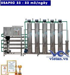 Hệ thống lọc nước usapec 33m3