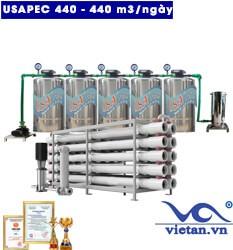 Hệ thống lọc nước usapec 440m3