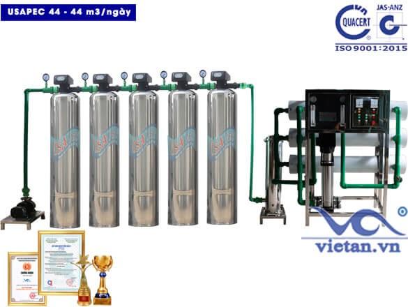 Hệ thống lọc nước usapec 44m3/ngày