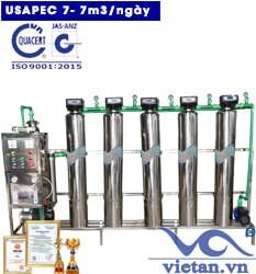 Hệ thống lọc nước usapec 7m3/ngày