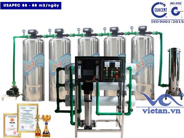 Hệ thống lọc nước usapec 88m3/ngày