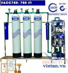 Dây chuyền lọc nước 750l-VACC750