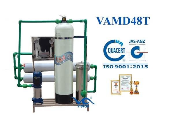 Dây chuyền lọc nước cho máy đá VAMĐ48T