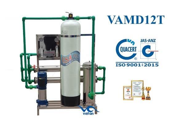 dây chuyền lọc nước cho máy đá VAMĐ12T
