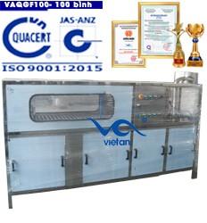 máy chiết rót bình VAQGF100