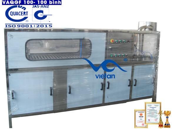 Máy chiết rót bình tự động VAQGF100