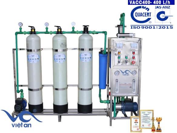 Dây chuyền lọc nước 400l VACC400