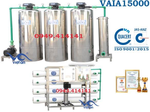 Dây chuyền lọc nước 15000l VAIA15000