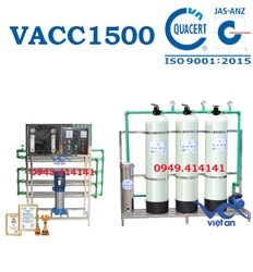 Dây chuyền lọc nước 1500l VACC1500