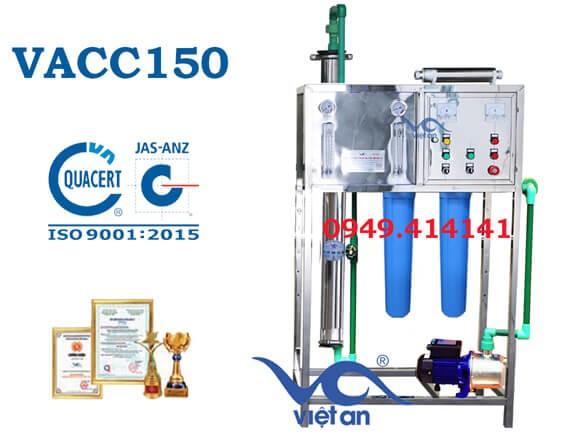 Dây chuyền lọc nước 150l VACC150