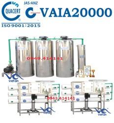 Dây chuyền lọc nước 20000l VAIA20000