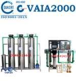 Hệ thống dây chuyền lọc nước RO tinh khiết 2000 lít/h VAIA2000