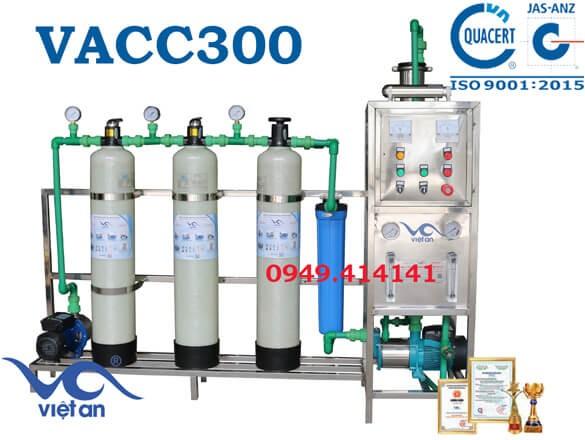 Dây chuyền lọc nước 300l VACC300