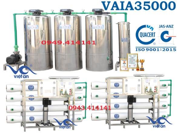 Dây chuyền lọc nước 35000l VAIA35000